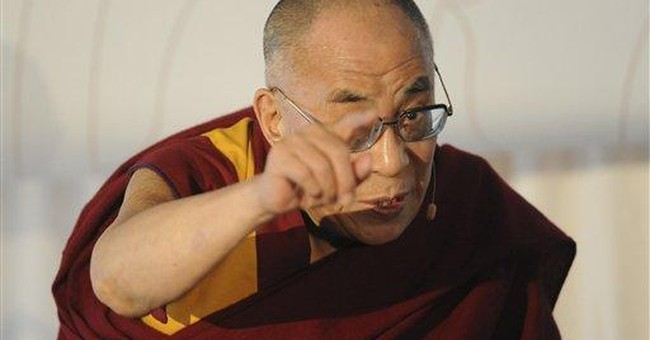 Dalai Lama: China not enemy, some hard-liners are